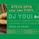 STECK SPIN your own VINYL met DJ YOU